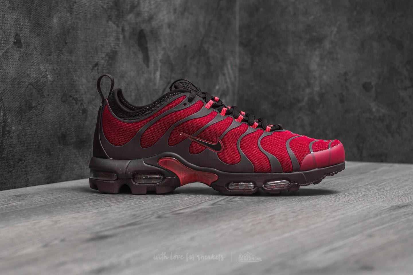 46b782abad ... sale lyst nike air max plus tn ultra noble red port wine for men 258b7  82830