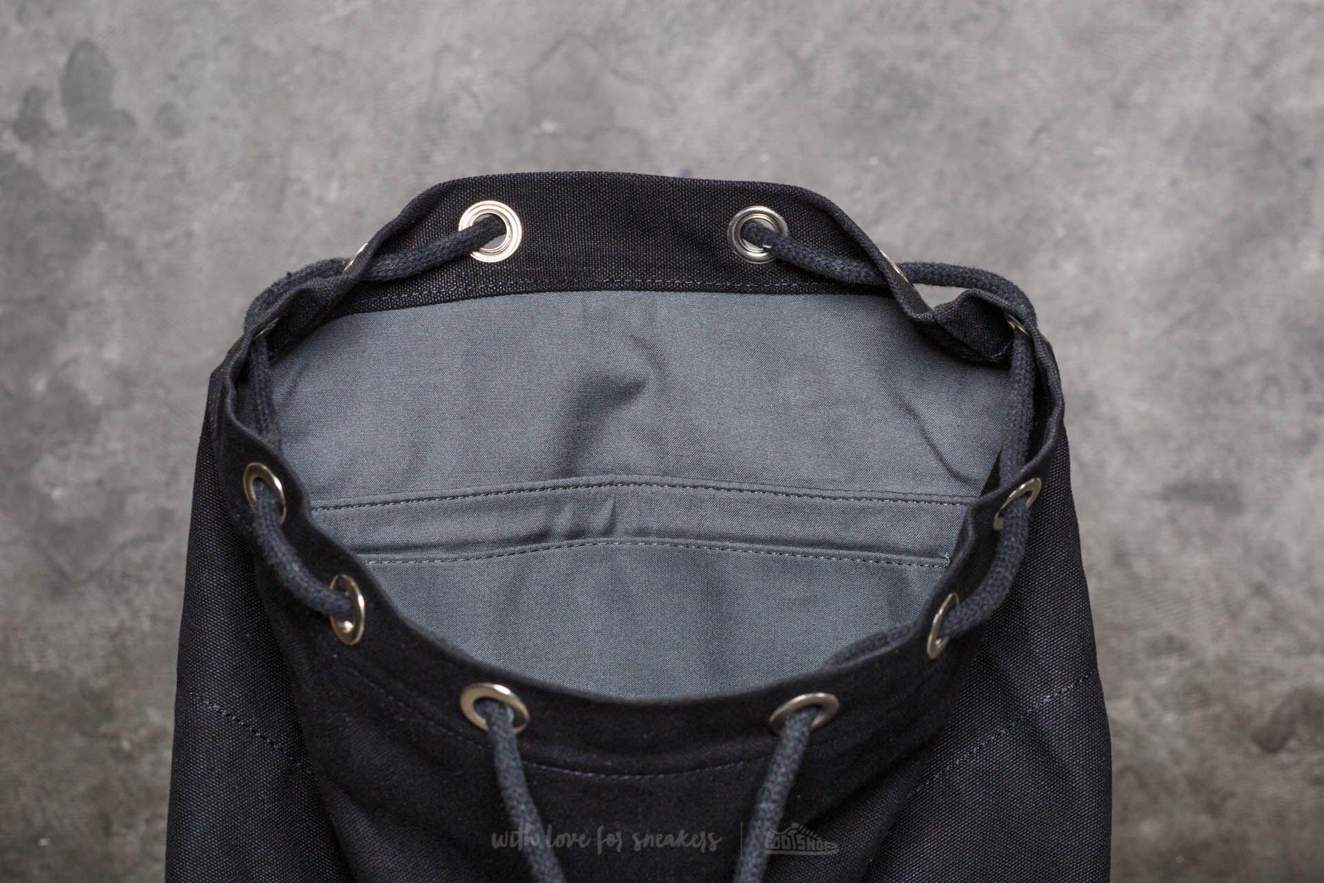 Lyst - Footshop Sandqvist Stig Large Backpack Black in Black for Men 1f418f048f