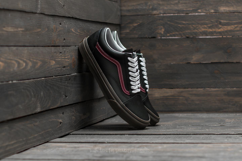 Lyst - Vans Old Skool (bleacher) Black  Port  Gum in Black for Men 28cfc7de0
