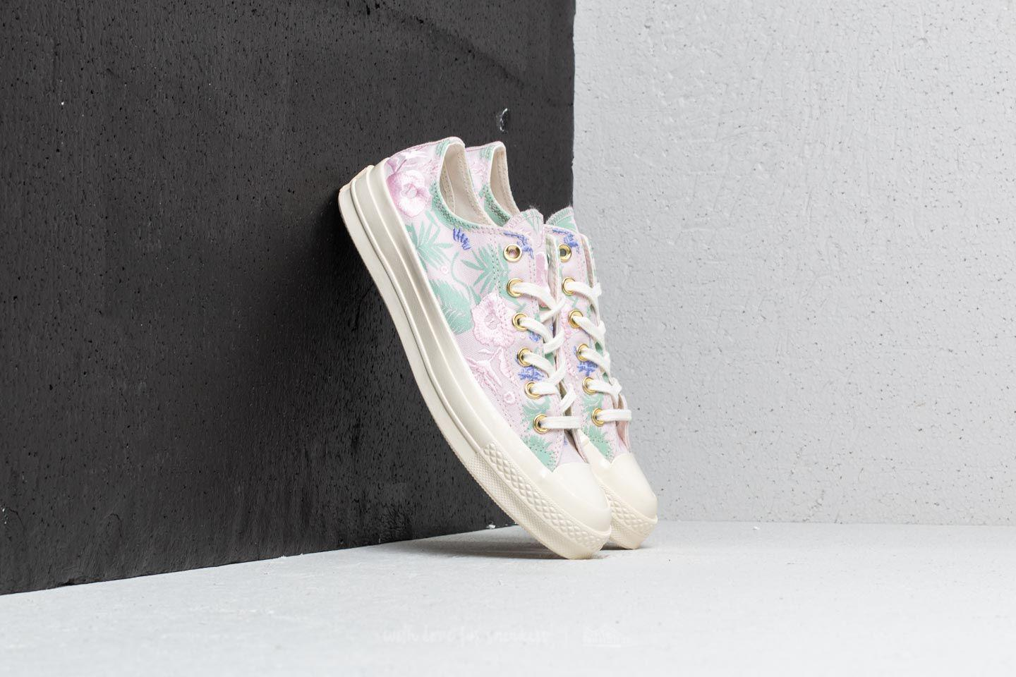884304cb26f9 converse chuck taylor all star ox shoes barely rose Lyst - Converse Chuck  Taylor All Star 70 Ox Barely Rose  Jaded  Egret