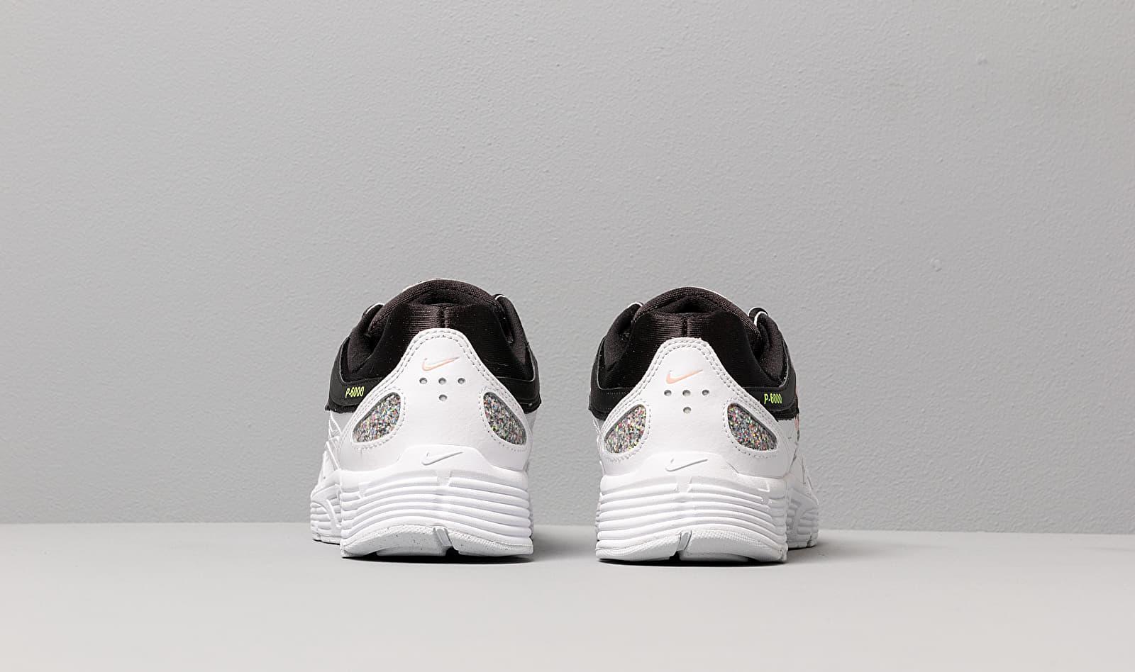 W P-6000 Se Black/ Multi-Color-White-Coral Stardust Nike
