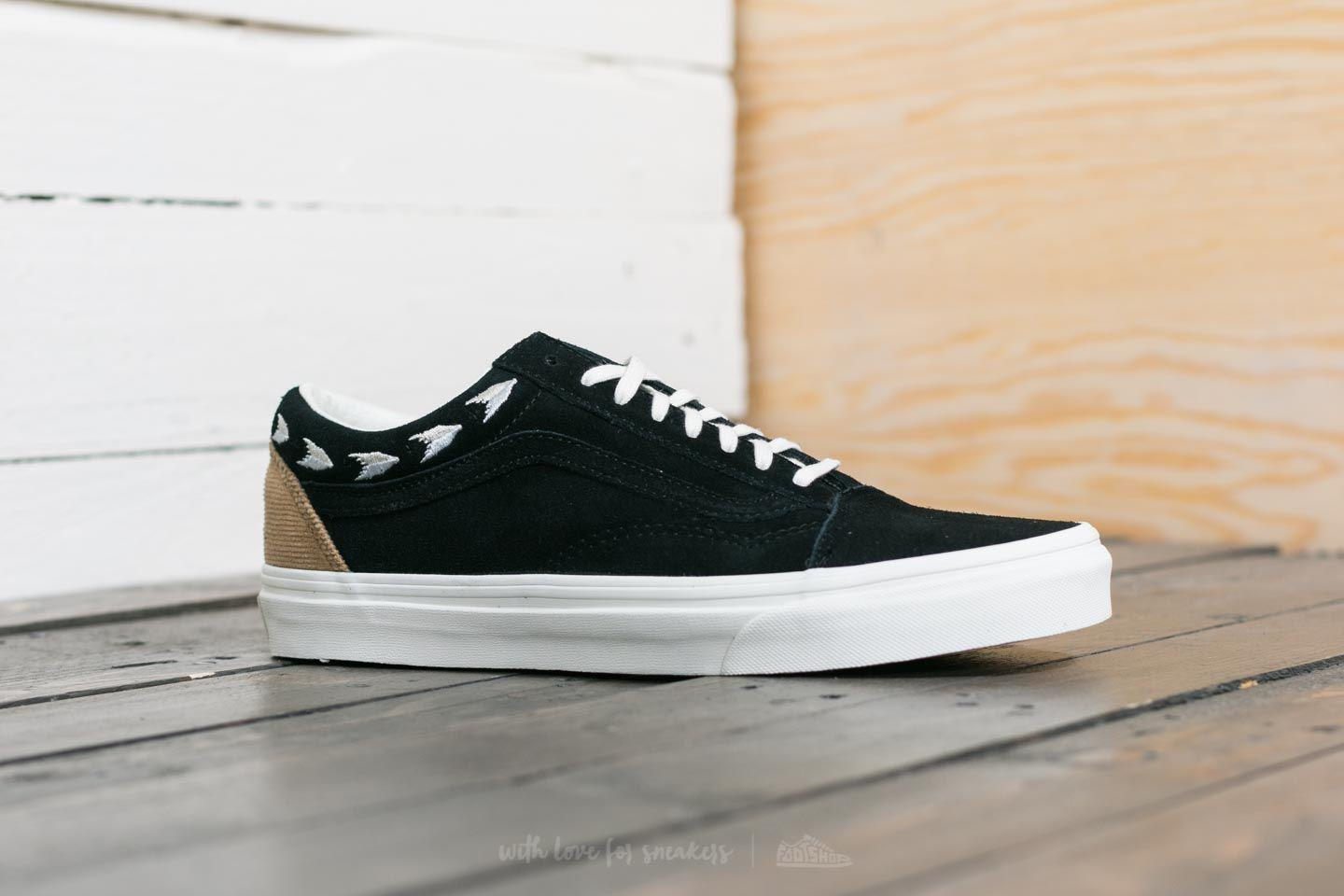 Lyst - Vans Old Skool (native Embroidery) Black  Marshmallow in Black 6c112b49e