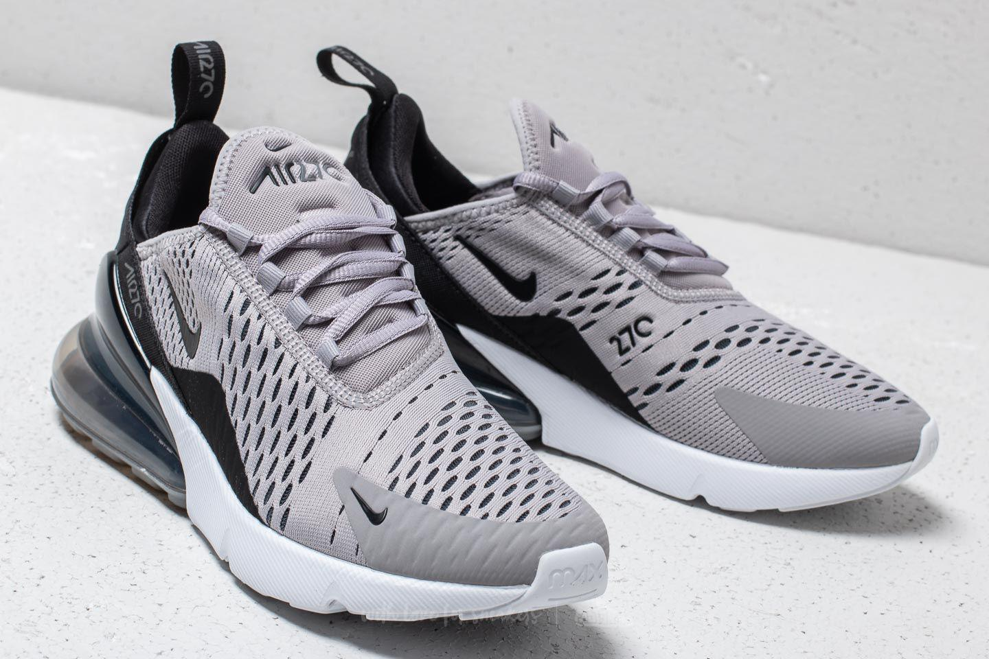 hot sale online 25db1 dbdd1 Women's Gray Air Max 270 Wmns Atmosphere Grey/ Black-gunsmoke
