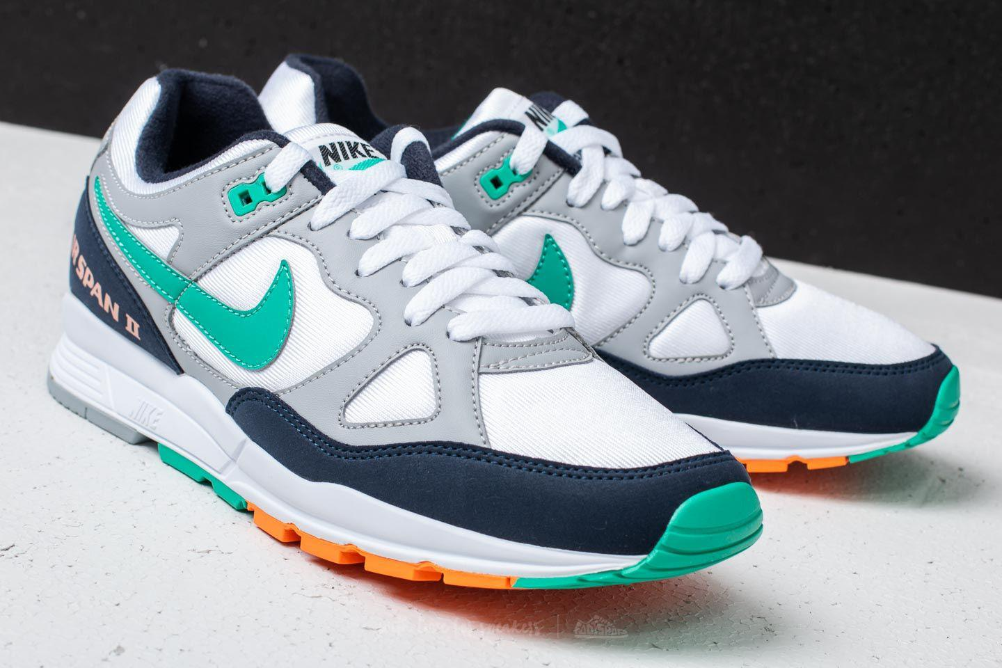 best service d75ba a1758 Lyst - Nike Air Span Ii Wolf Grey Kinetic Green in Gray for