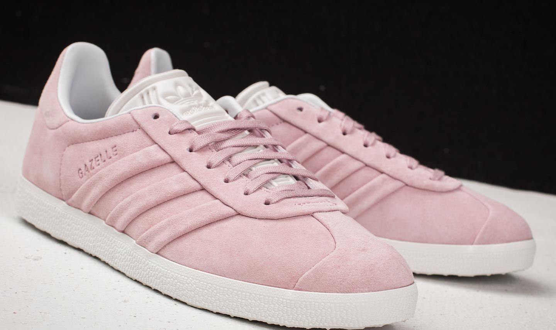 695ac4c2dea0e Lyst - adidas Originals Adidas Gazelle Stitch And Turn W Wonder Pink ...