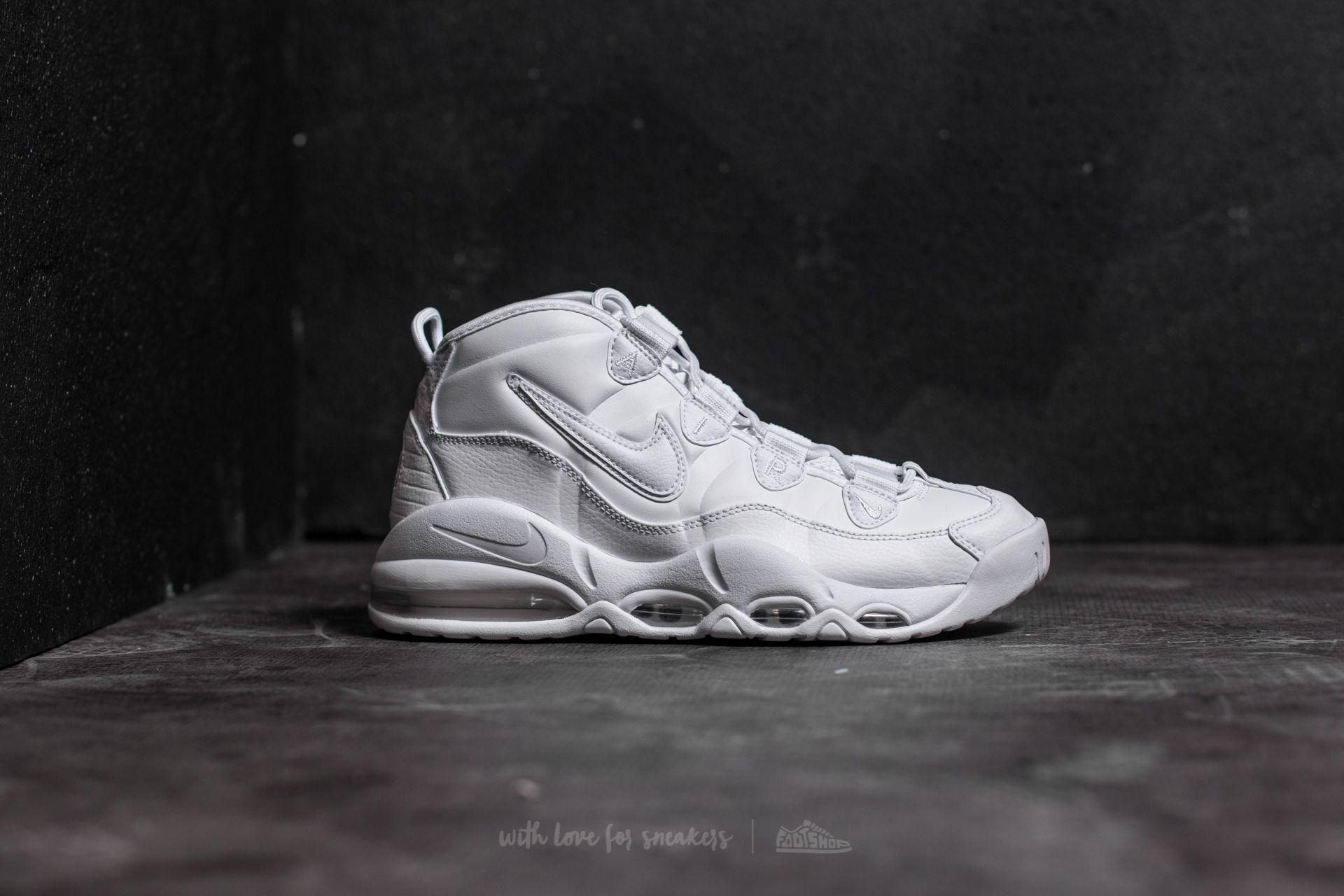 official photos 4575e 3b935 Nike Air Max Uptempo ́95 White/ White-white for men
