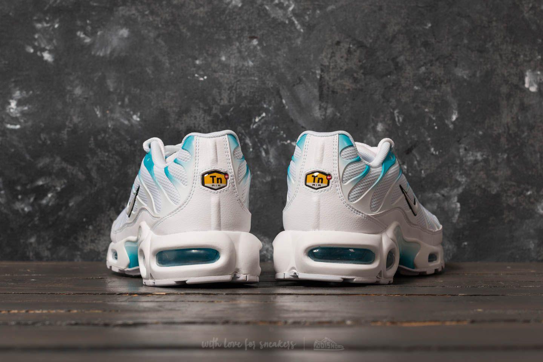 Nike Rubber Air Max Plus White White Light Blue Fury For Men Lyst