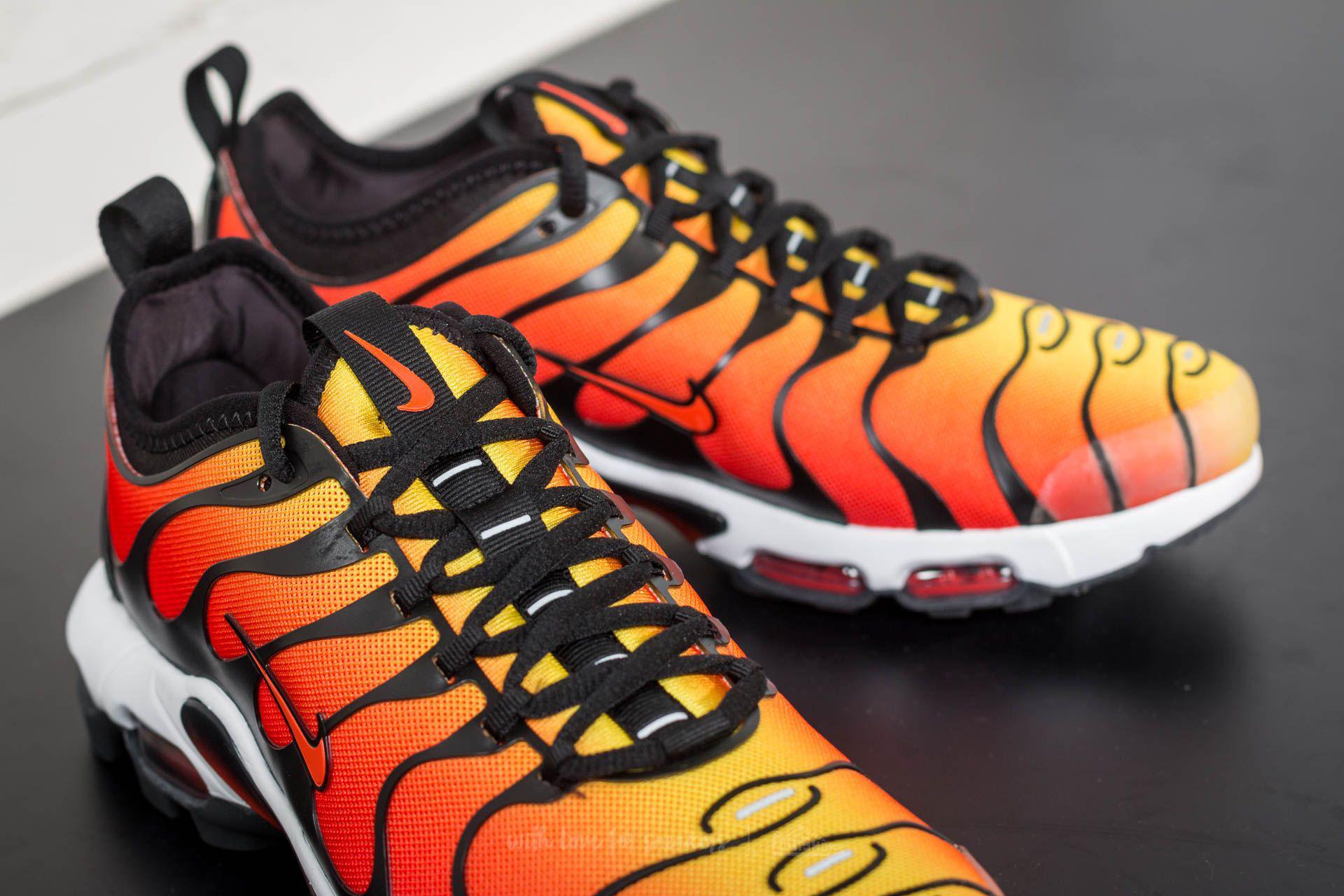 Nike Air Max Plus Tn Ultra Black/ Team Orange-tour Yellow for Men ...