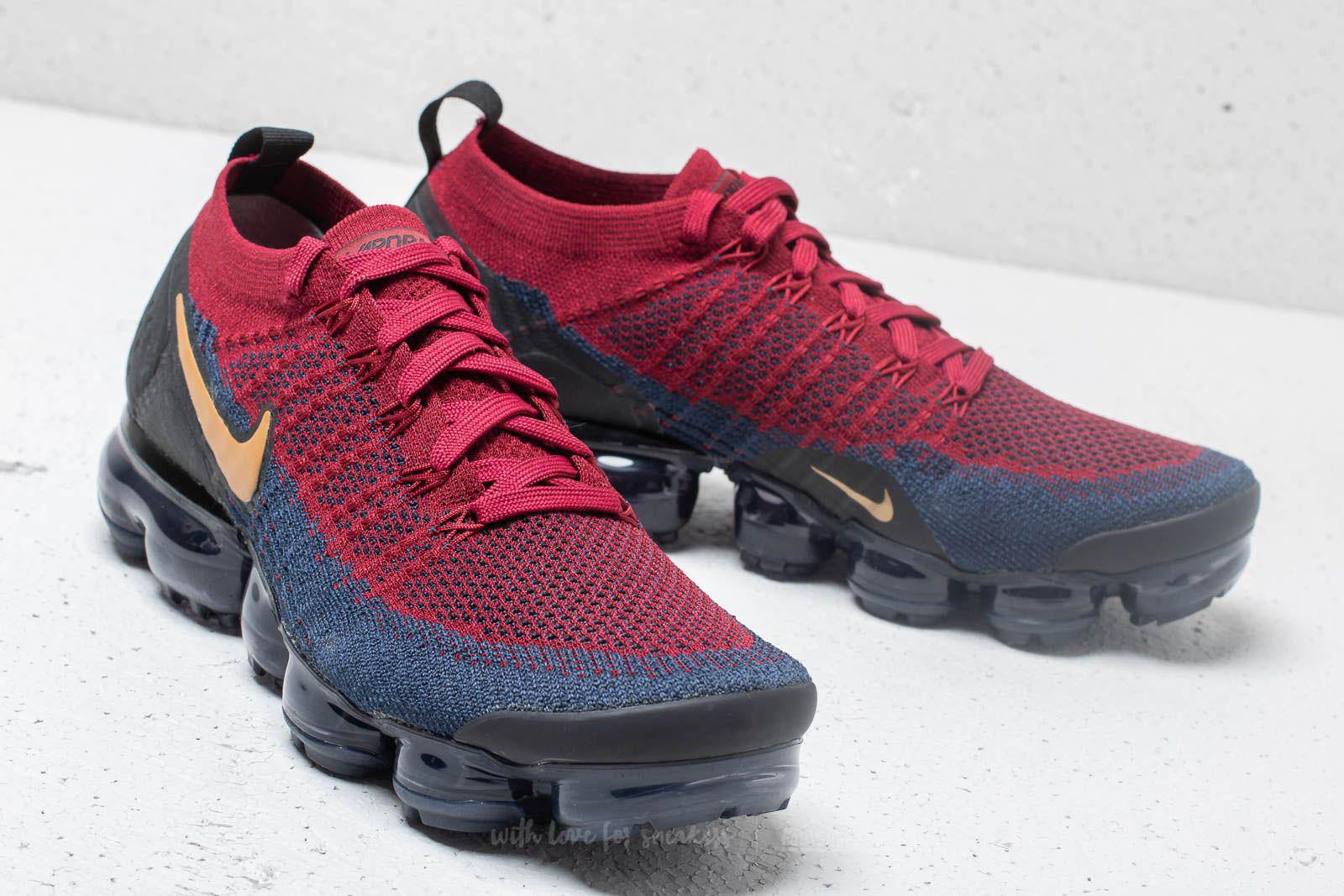 purchase cheap c106f f8814 Nike Multicolor Air Vapormax Flyknit 2 Team Red/ Wheat-obsidian-black for  men