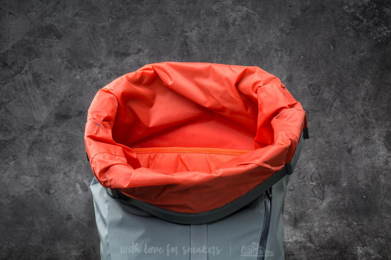 376a89268 Footshop Gray The North Face Peckham Backpack Sedona Sage Grey/ Nasturtium  Orange