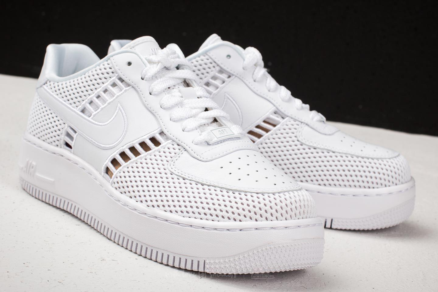separation shoes 326ab c284a Women's W Air Force 1 Upstep Si White/ Vast Gray