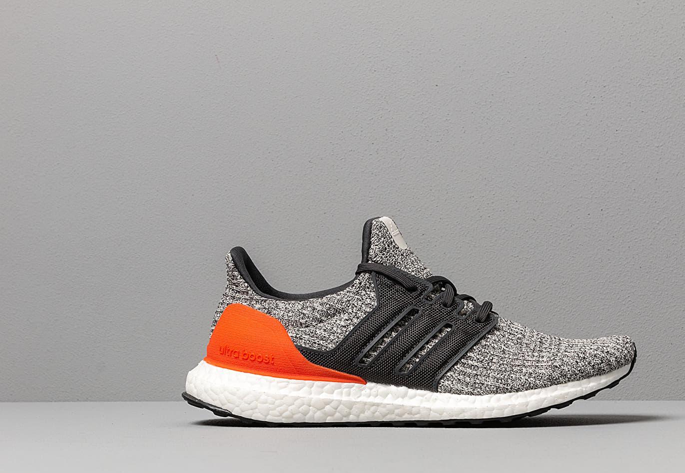 afe4e8229 Adidas Originals - Adidas Ultraboost Raw White  Carbon  Active Orange for  Men - Lyst. View fullscreen