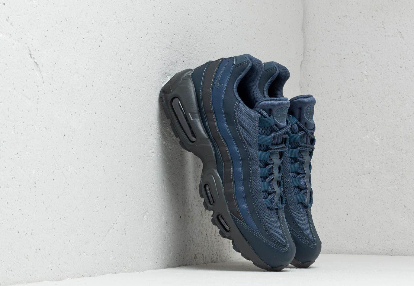 new product 3a7b7 796f3 Nike. Men s Air Max 95 Essential Squadron Blue  ...