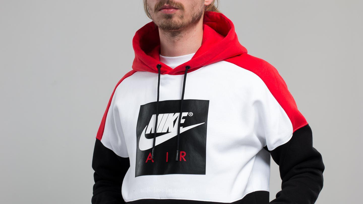 3f3d53068ea3 Red And White Nike Sweatshirt - Cotswold Hire