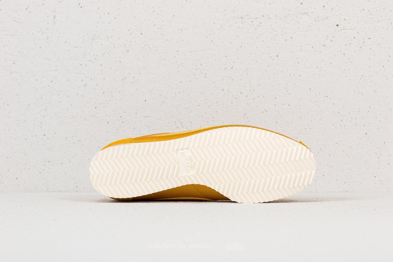 27b1445583d Lyst - Nike Wmns Classic Cortez Nylon Mineral Yellow  Mineral Yellow ...
