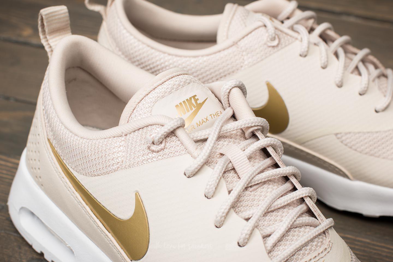 be143e2c9e6 Lyst - Nike Wmns Air Max Thea J Desert Sand  Metallic Gold in Metallic
