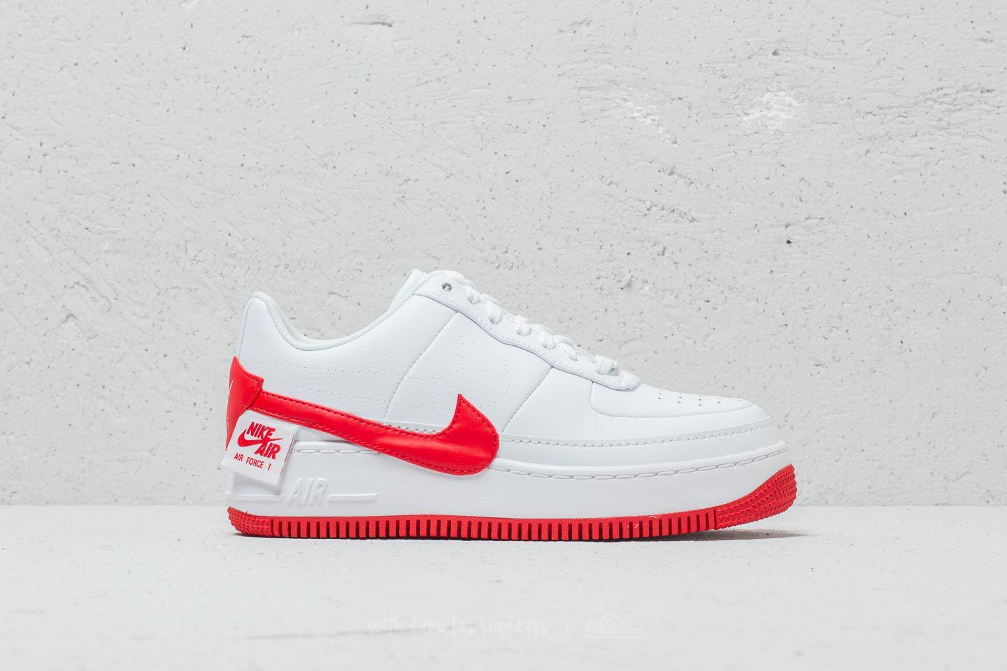 Nike Leather Air Force 1 Jester Xx Wmns White/ University Red - Lyst
