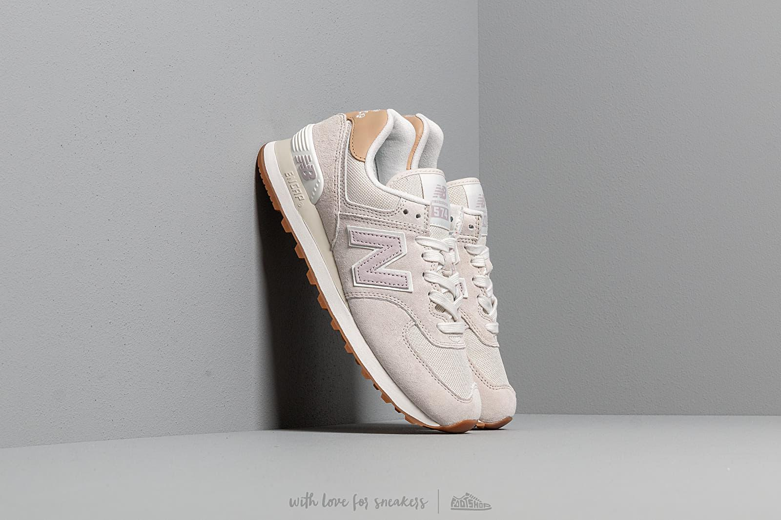 New Balance 574 Light Cliff Grey Light Cashmere in Gray Lyst