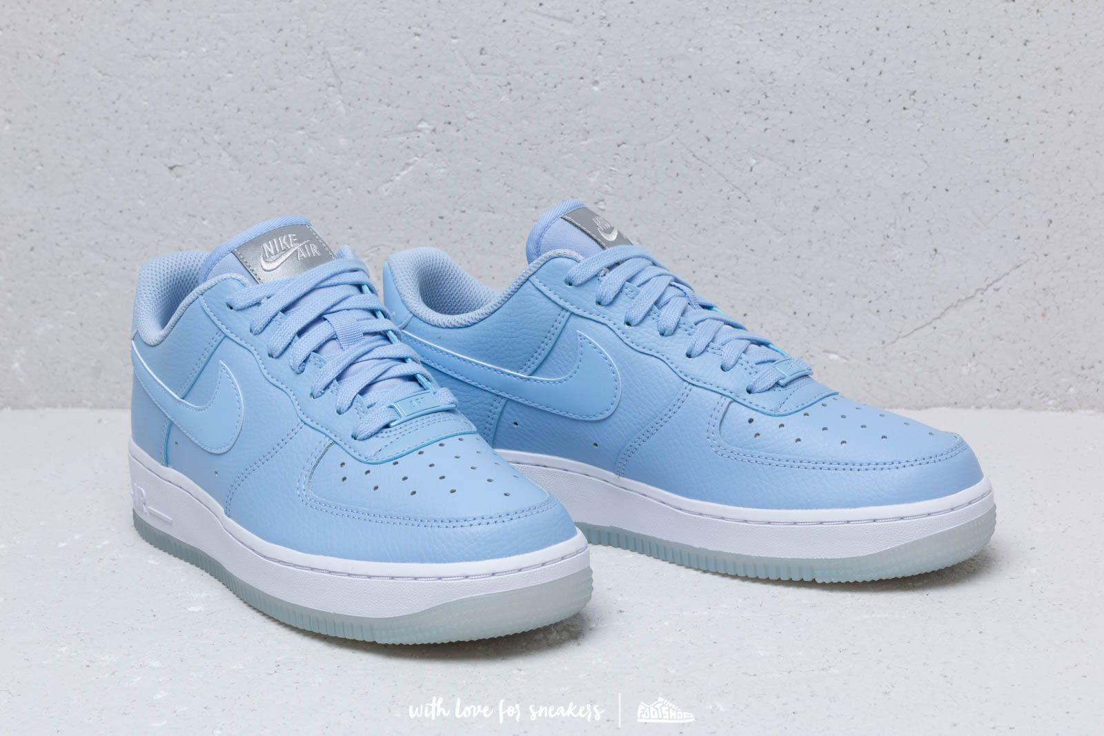 huge selection of 71827 4316e Nike Wmns Air Force 1  07 Ess Aluminum  Aluminum-white-mtlc Luster ...