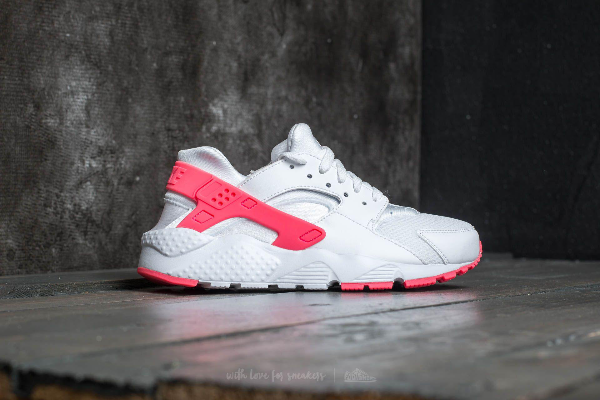 the latest 49295 17c03 Nike Huarache Run (gs) White/ Racer Pink