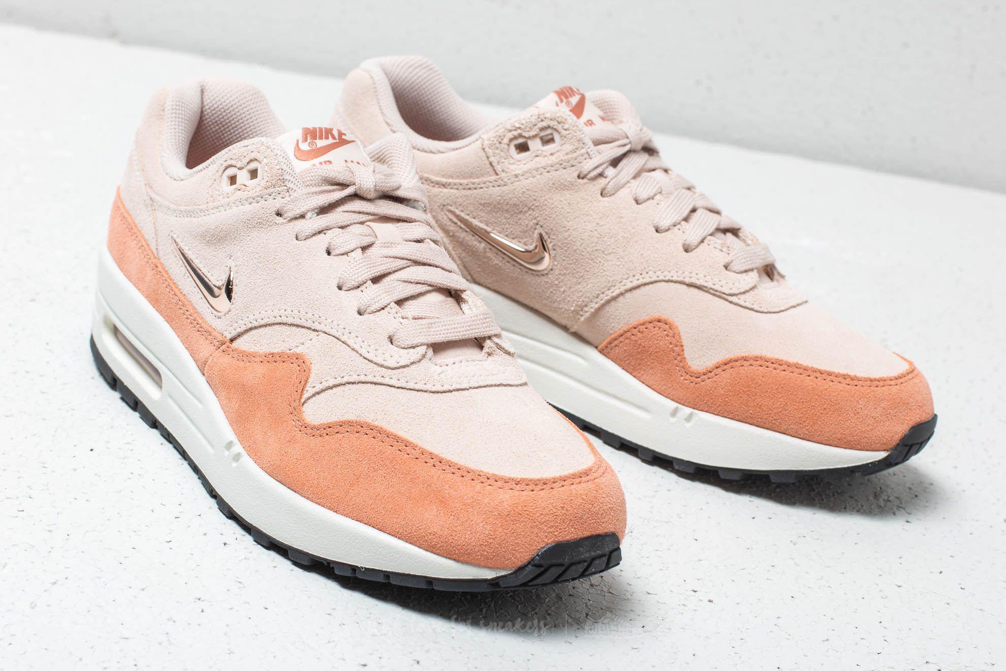 competitive price 5aa2f 98a3f Lyst - Nike W Air Max 1 Premium Sc Guava Ice  Metallic Bronze