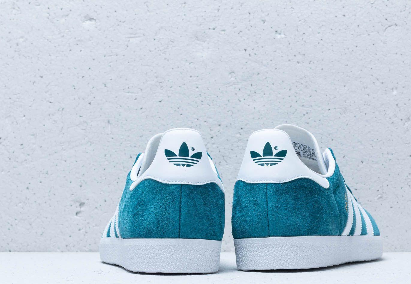 ornamento Sofisticado Perdóneme  adidas Originals Adidas Gazelle Petrol Night/ Ftw White/ Ftw White in Blue  for Men - Lyst