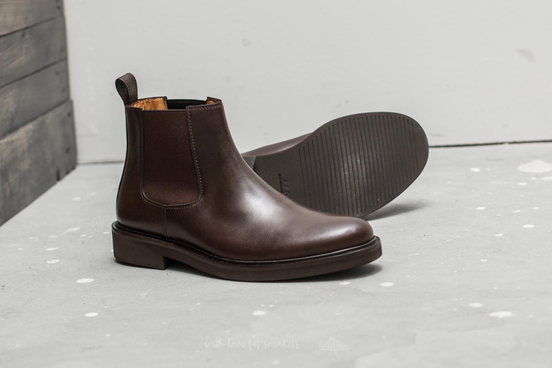 A.P.C Boots Simeon Cae Marron Fonce