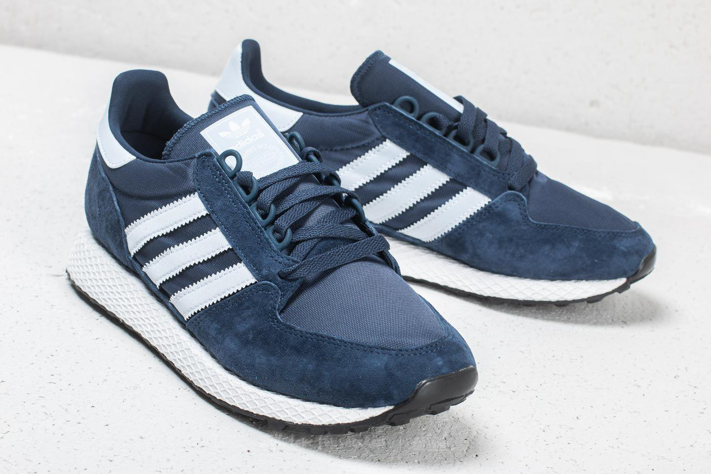 reputable site d4429 09d6a Lyst - adidas Originals Adidas Forest Grove Collegiate Navy