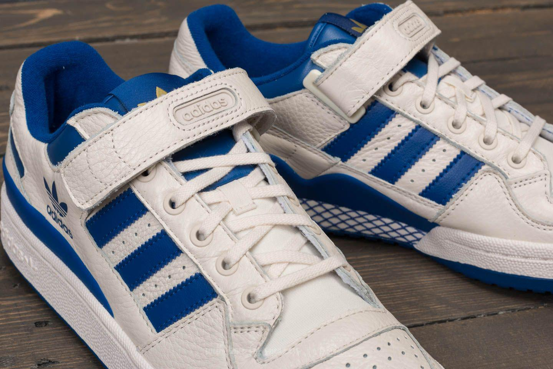 pretty nice f975b 825bc Lyst - adidas Originals Adidas Forum Low Chalk White Collegi