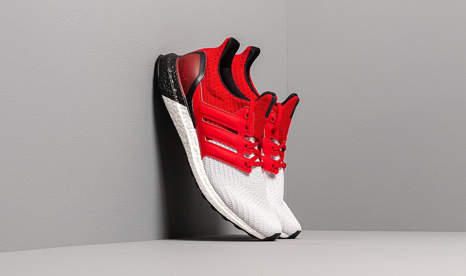 Adidas Ultraboost M Ftw White/ Scarlet/ Core Black
