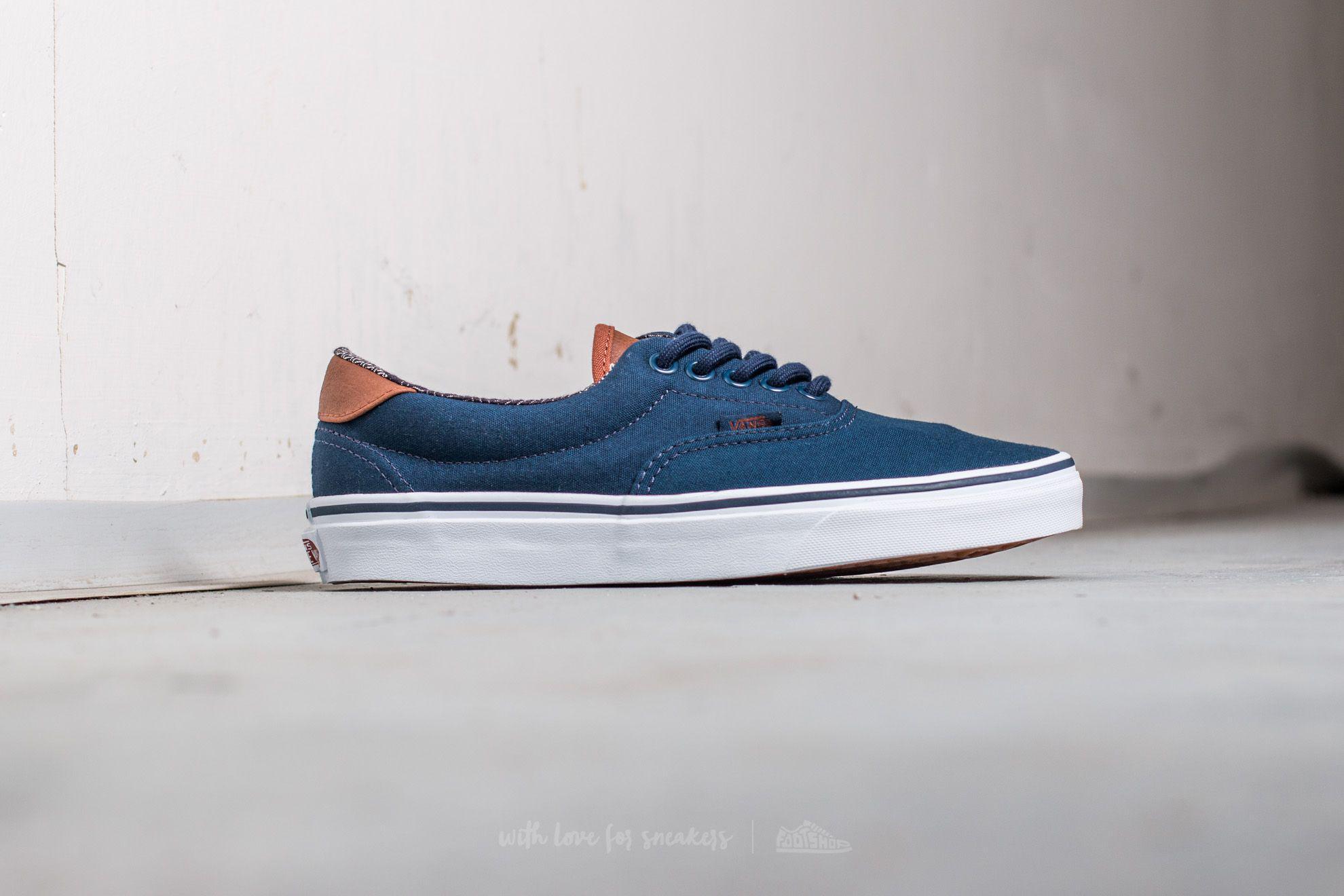 966321303f Lyst - Vans Era 59 (c l) Khaki  Material Mix in Blue for Men