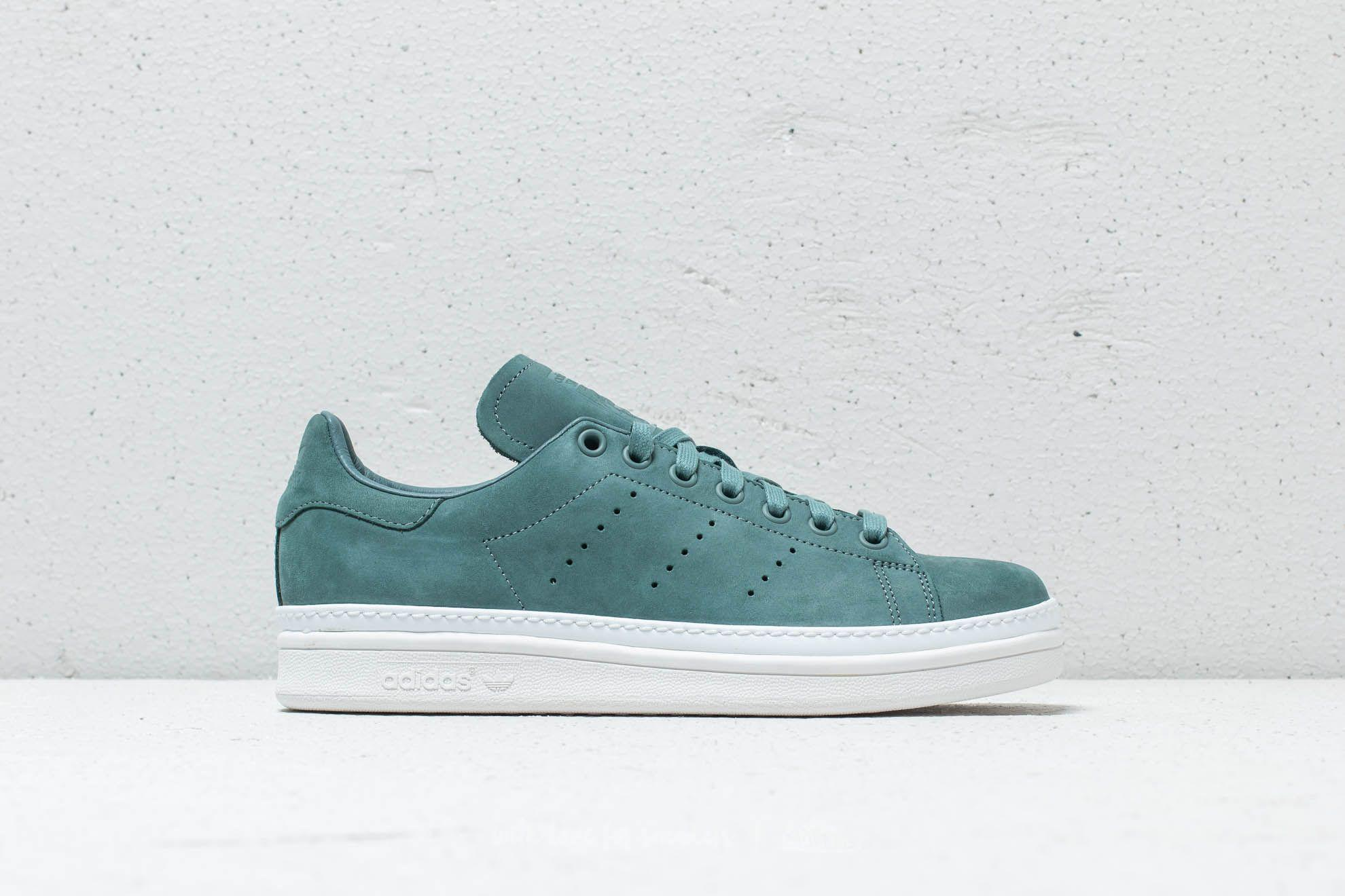 casual shoes brand new low cost Adidas Stan Smith New Bold W Raw Green/ Raw Green/ Cloud White
