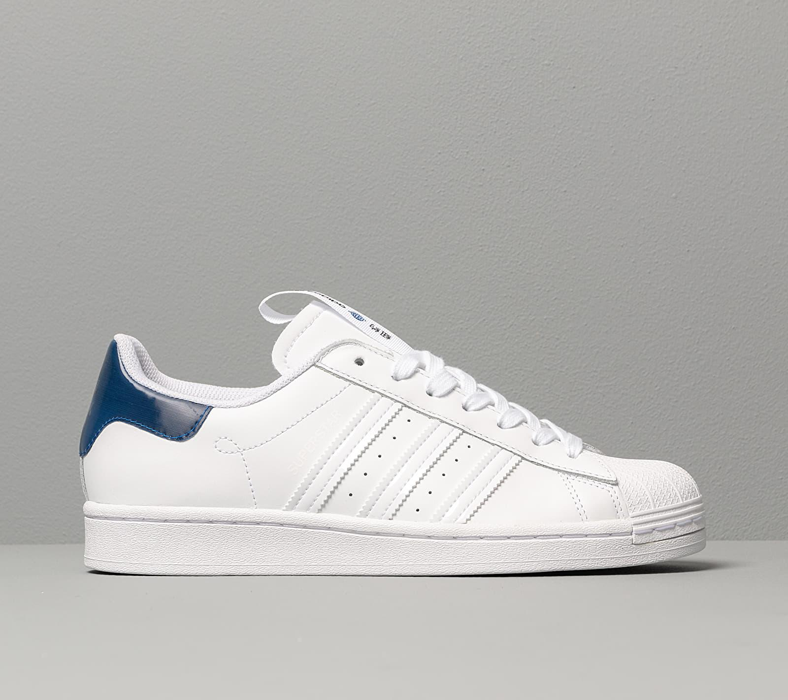 Adidas Superstar Ftwr White/ Collegiate Royal/ Core Black