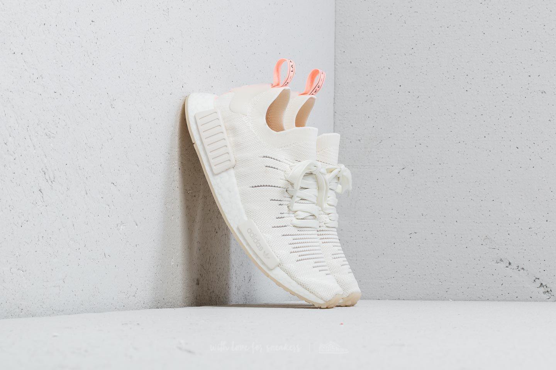 separation shoes a0a3d 27764 Adidas Originals Adidas Nmd_r1 Stlt Primeknit W Cloud White/ Cloud White/  Clear Orange