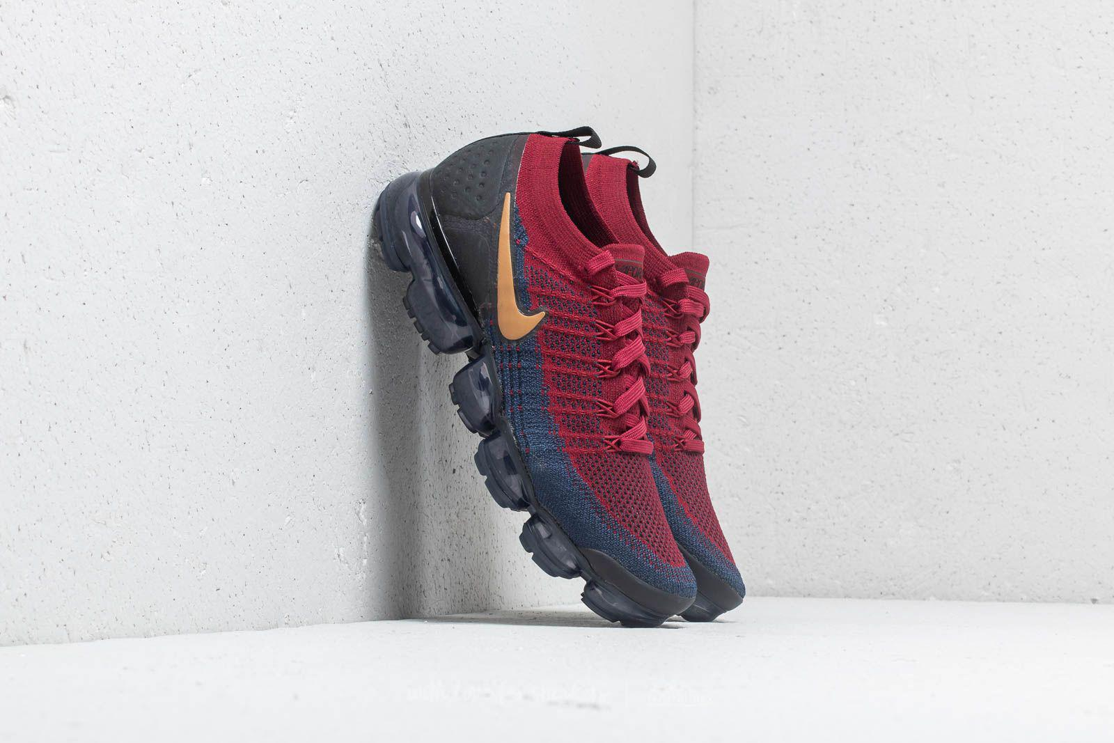 a0c56f7c87 Nike Air Vapormax Flyknit 2 Team Red/ Wheat-obsidian-black for Men ...