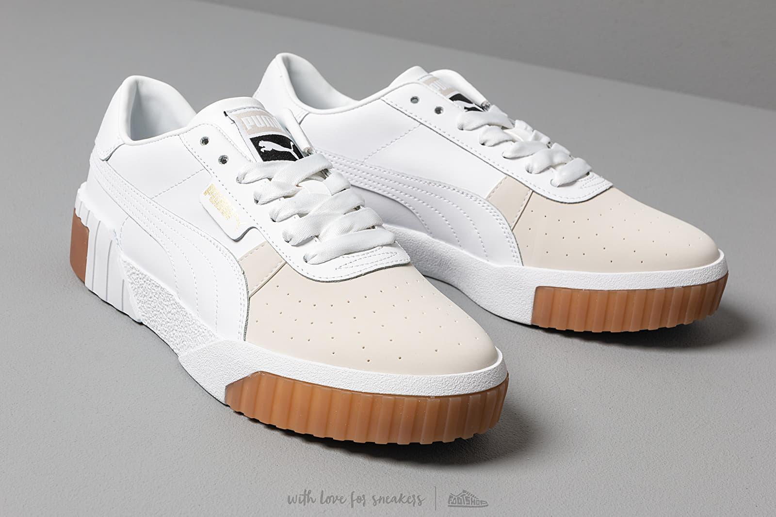 Exotic Cali Trainers With Gum Sole