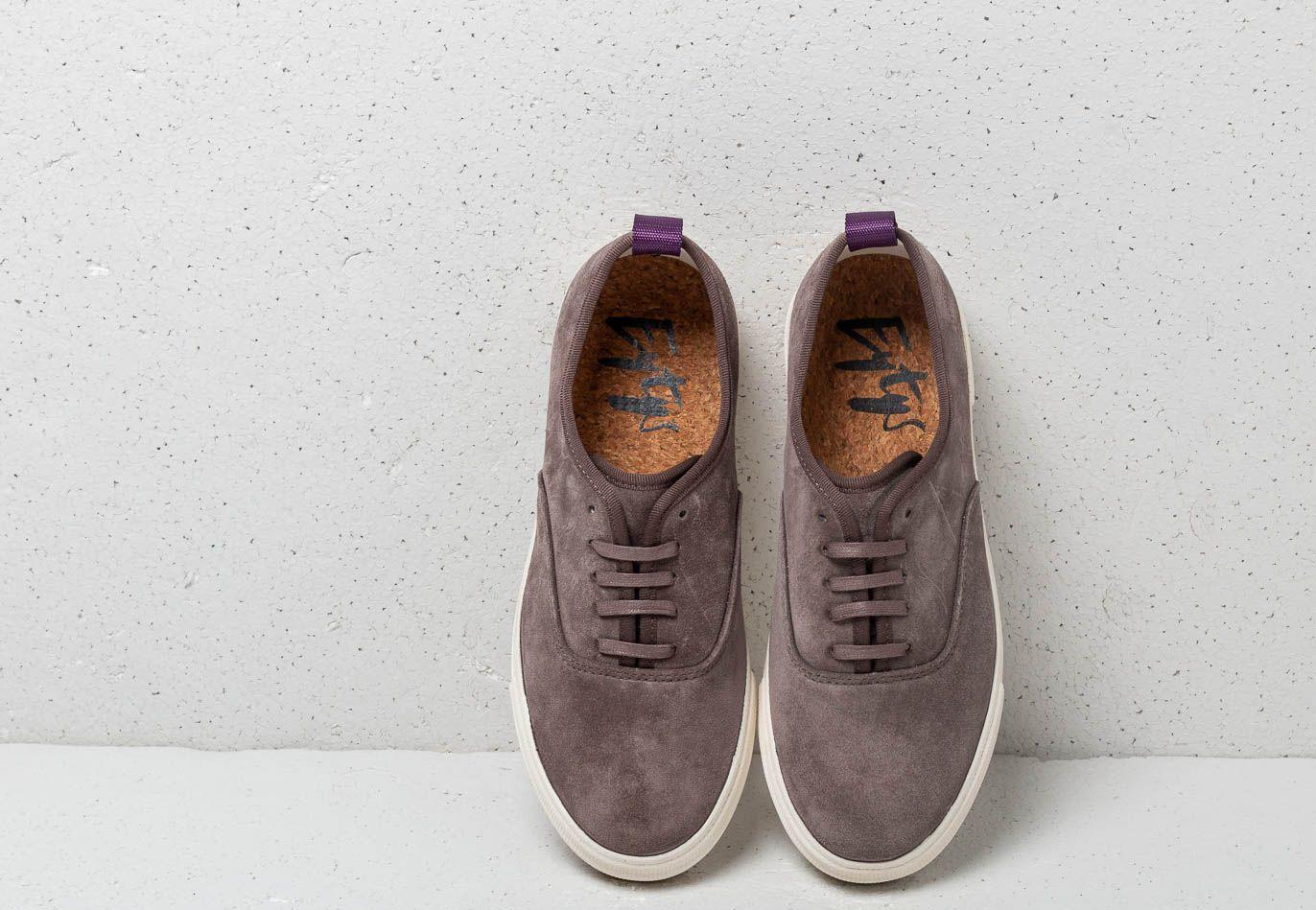 Eytys Mother Suede Iron in Gray - Lyst
