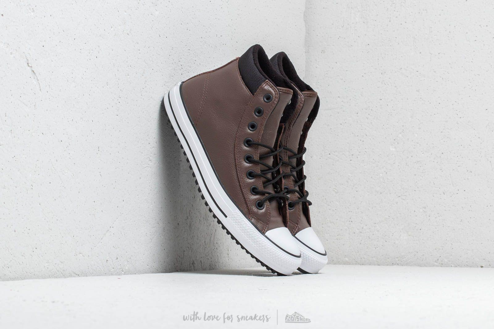 12780be93490c5 Converse. Men s Chuck Taylor All Star Pc Boot Hi Chocolate  Black  White