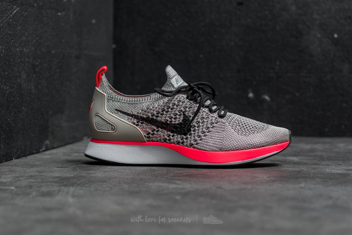a10c2c5be489 Lyst - Nike Wmns Air Zoom Mariah Flyknit Racer Premium String  Black ...