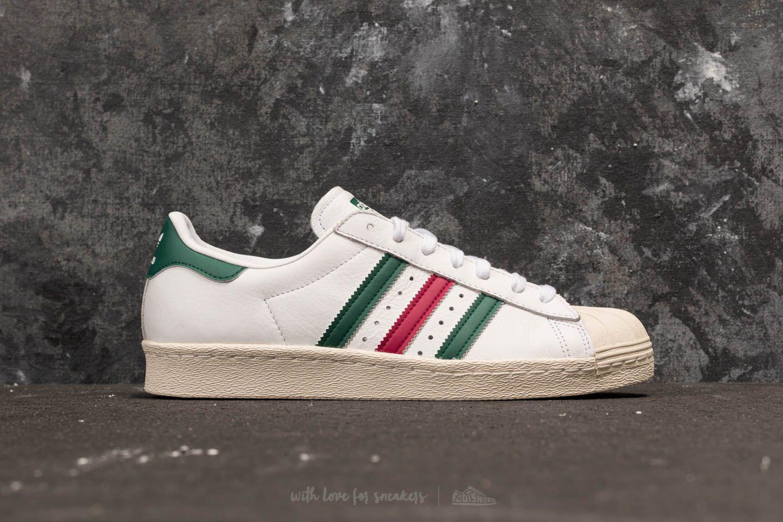 adidas superstar 80s green
