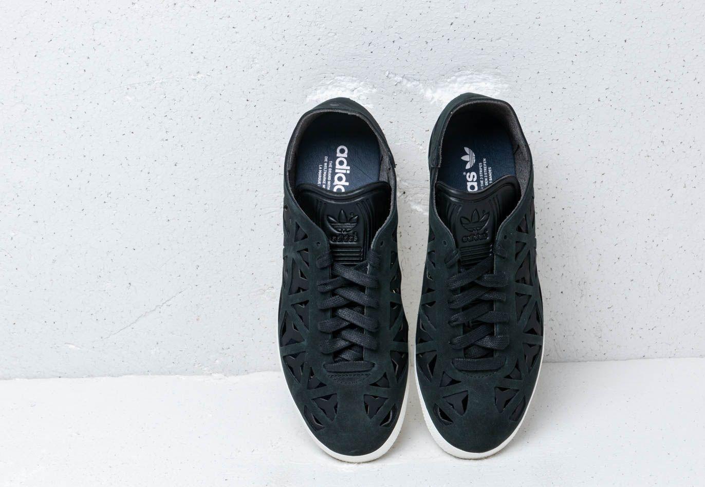 adidas gazelle cutout black
