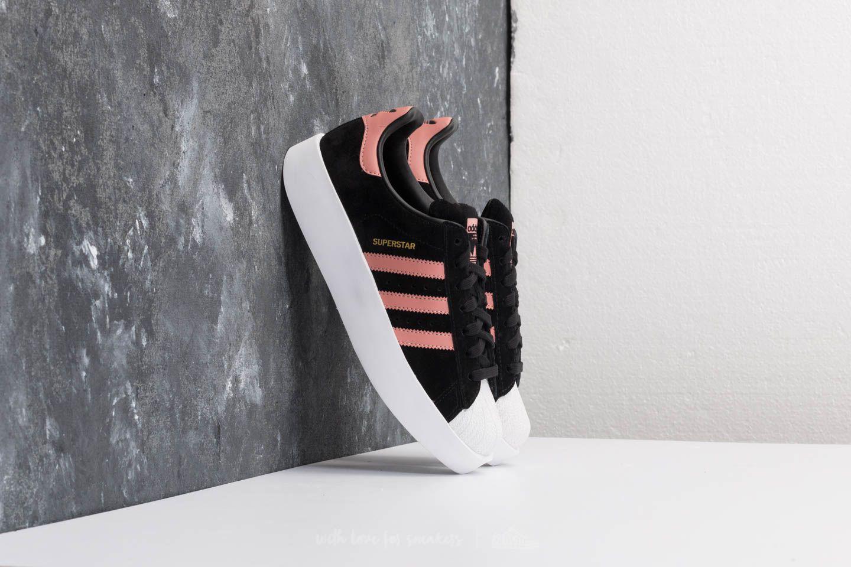 Lyst - adidas Originals Adidas Superstar Bold W Core Black  Ash Pink ... 8e28cb4aed6a3