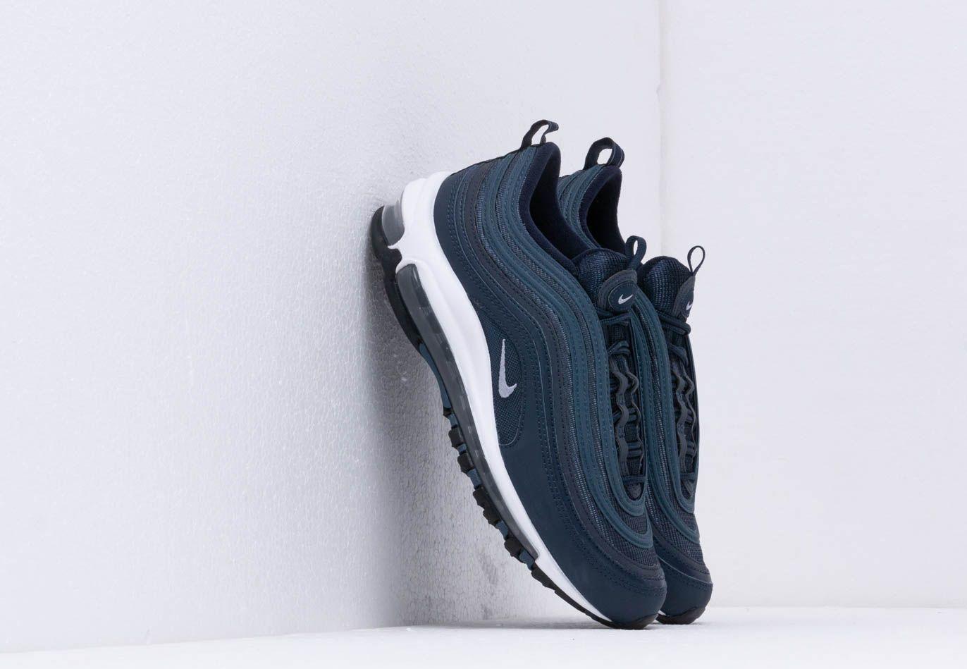 c20b299c83 Nike. Men's Air Max 97 Essential Obsidian/ Obsidian Mist-monsoon Blue