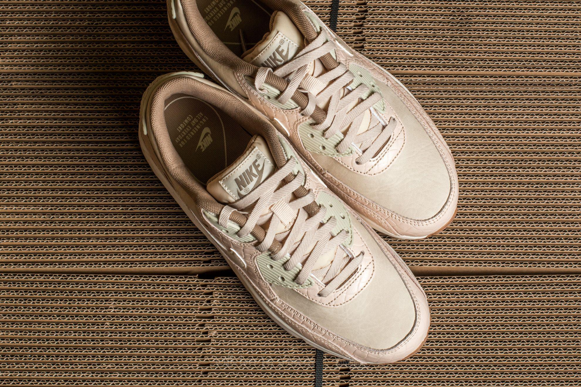 well known exquisite design best place Wmns Air Max 90 Premium Oatmeal/ Oatmeal-sail-khaki
