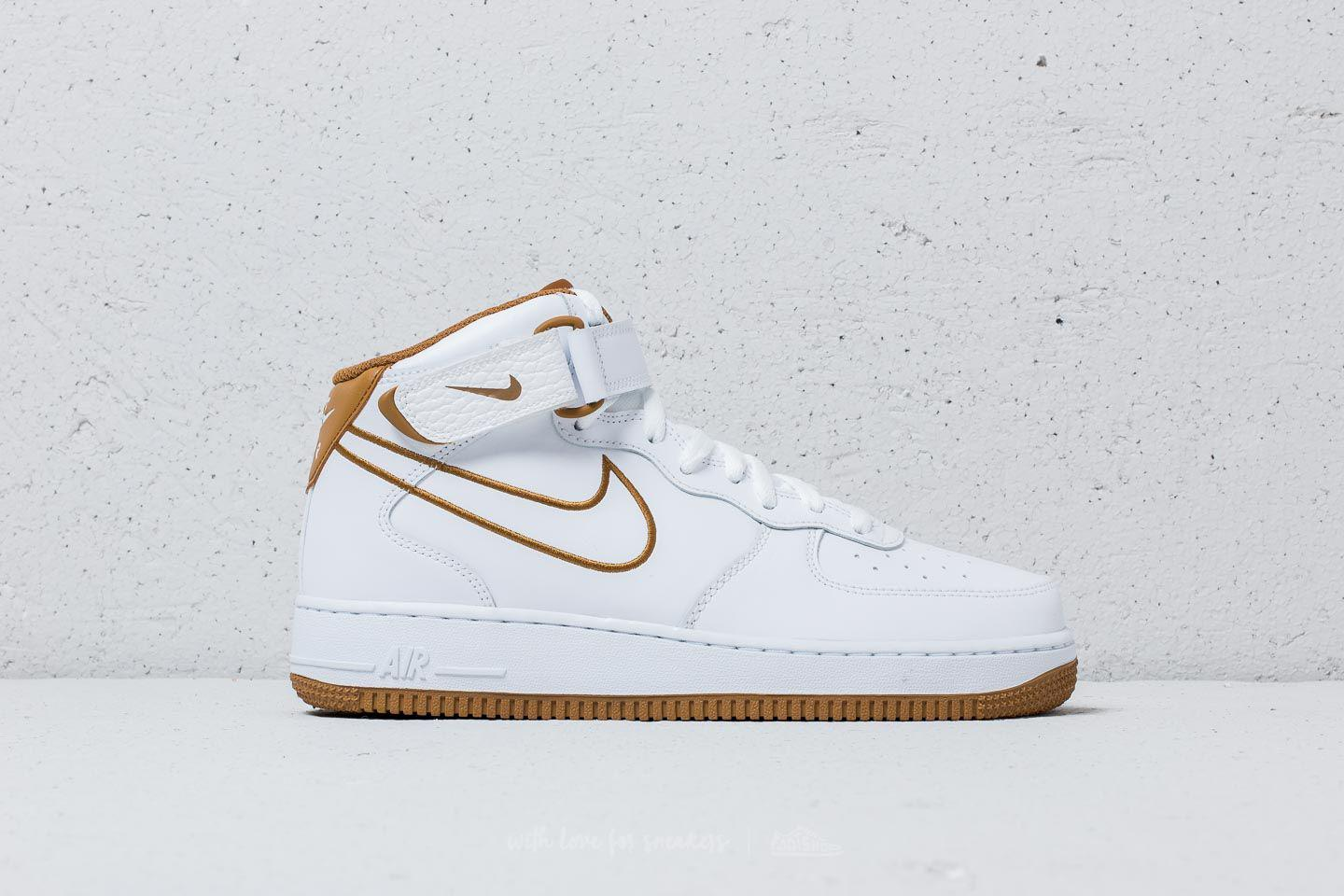 White Air 1 Nike Men Bronze For Leather Force Muted Mid ́07 GSVUpqzM