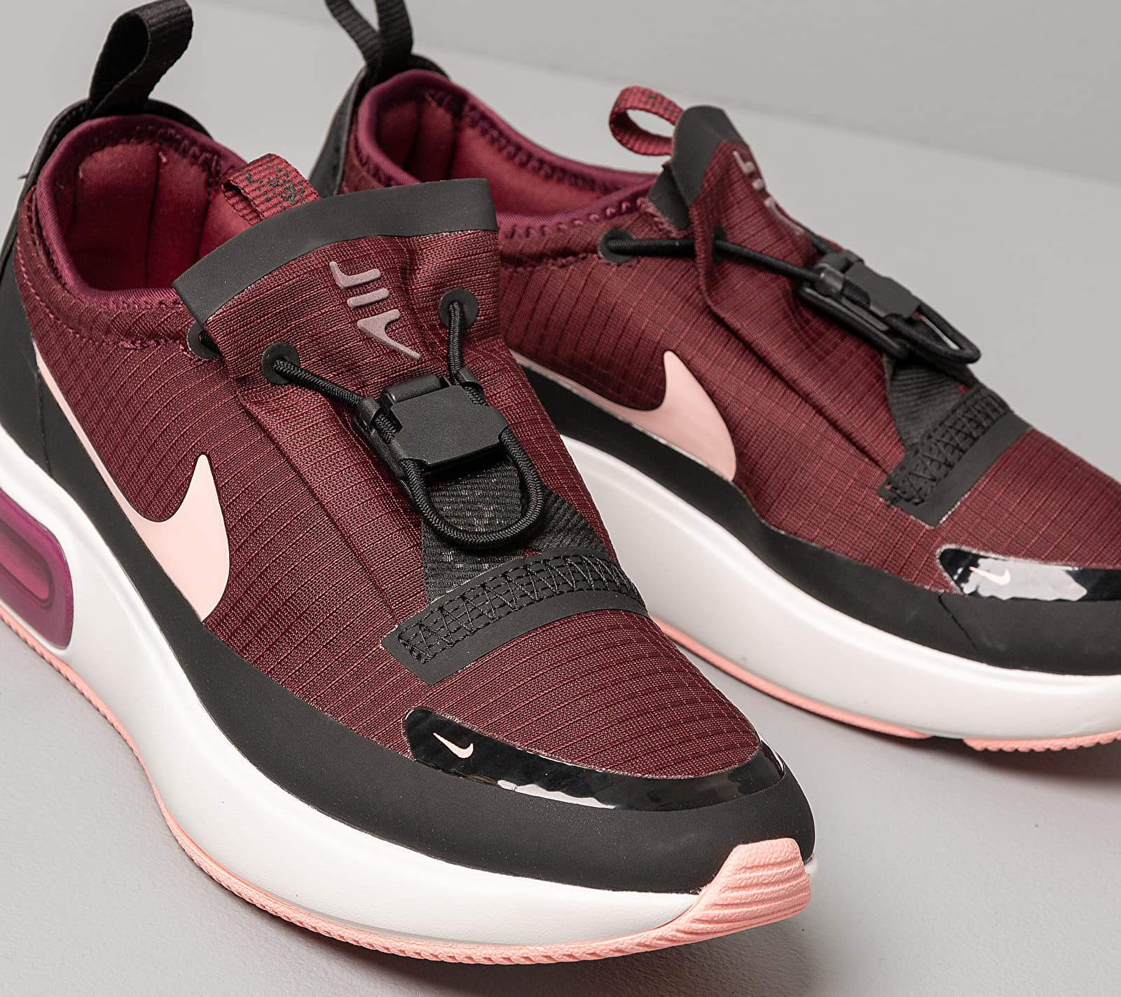 Jarra Palpitar Molester  Nike W Air Max Dia Winter Night Maroon/ Bleached Coral-black in ...