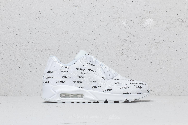 Lyst - Nike Air Max 90 Premium White  White-black in White for Men c27bb39fe806