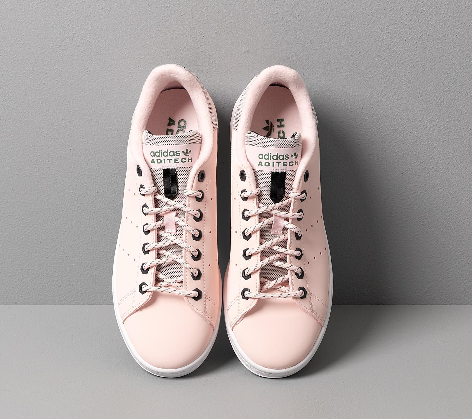 adidas stan smith rose fourree