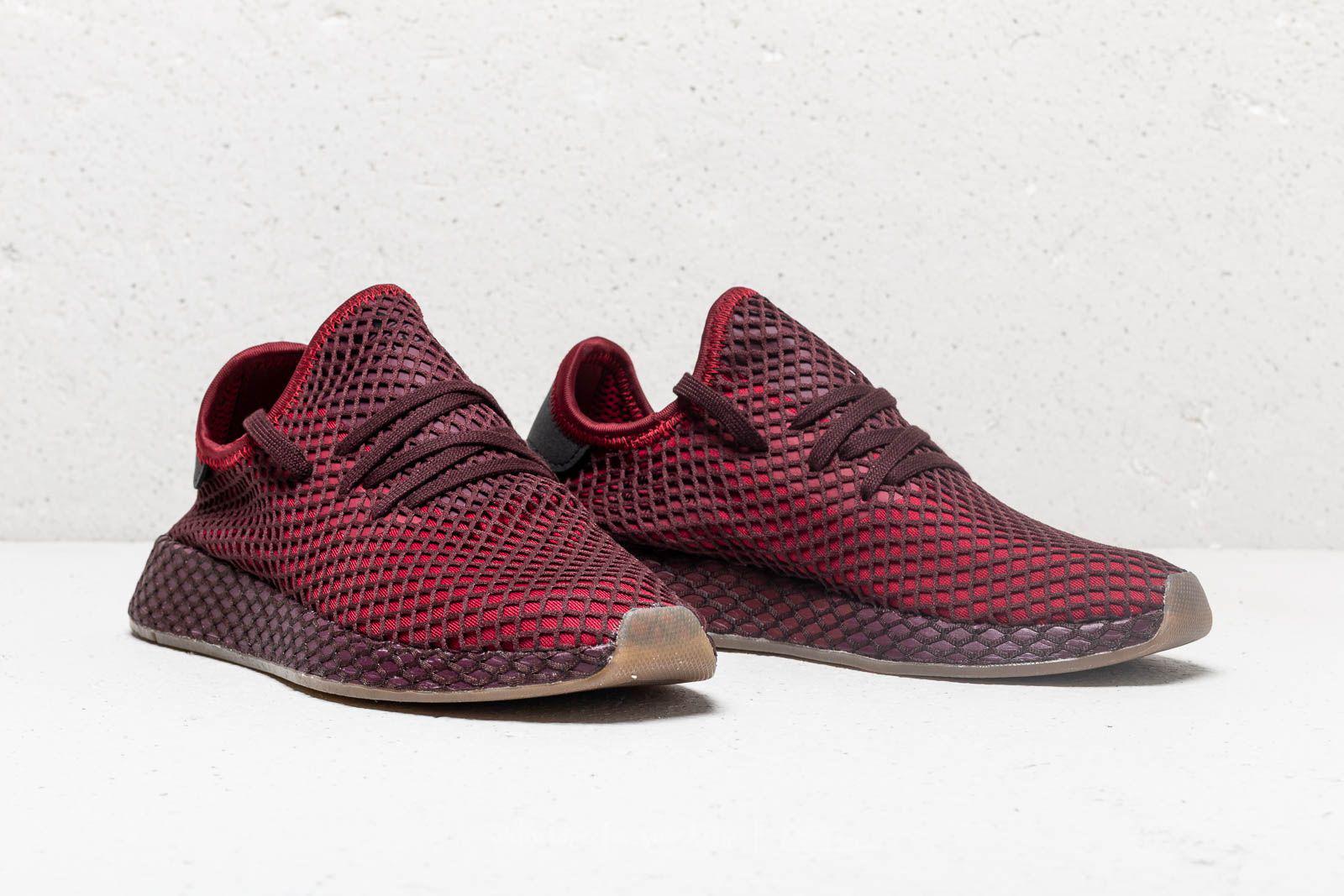 super popular 11813 38b1a Lyst - adidas Originals Adidas Deerupt Runner Collegiate Bur