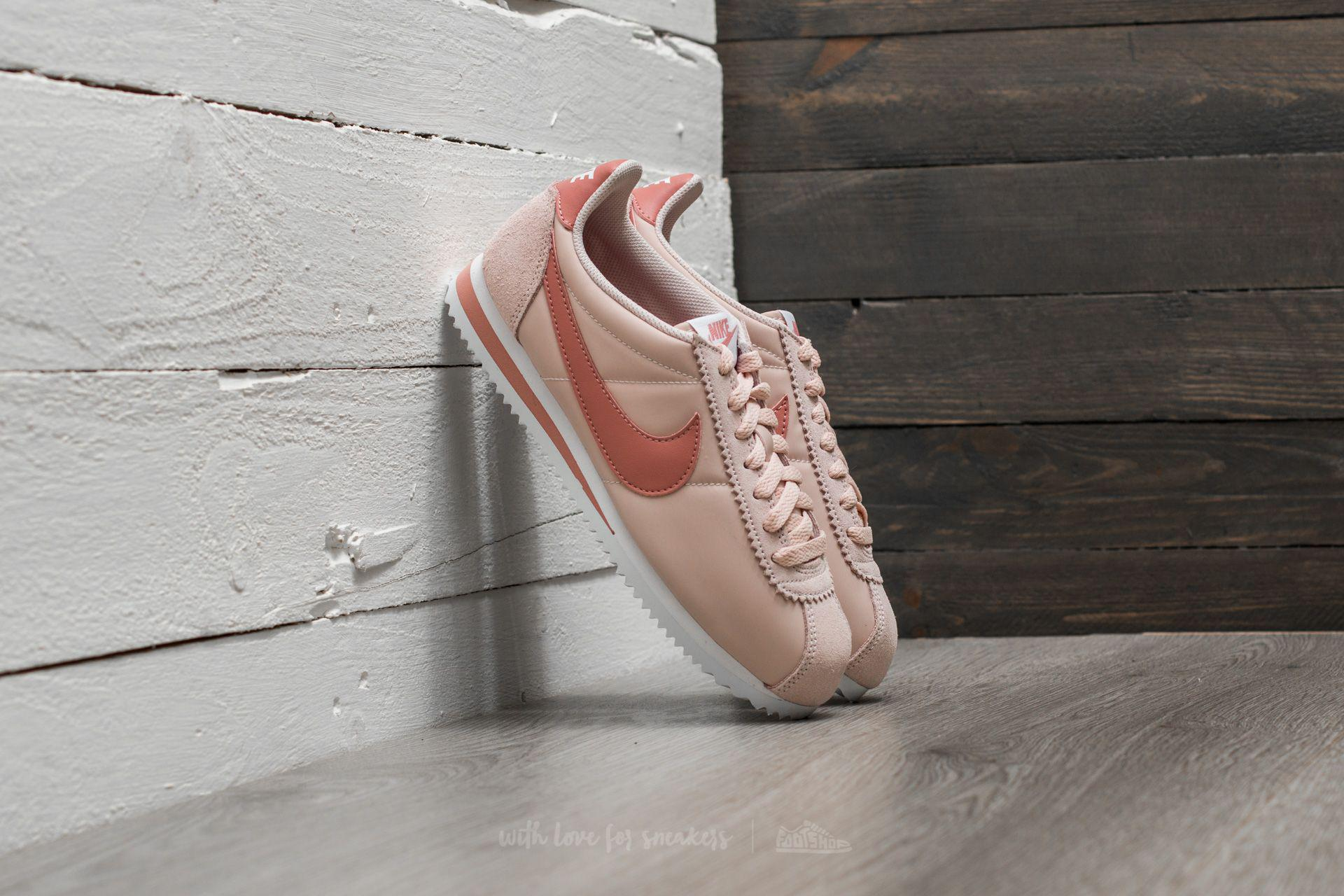 Lyst Nike Wmns Classic Cortez Nylon Silt Red/ Red Stardust white